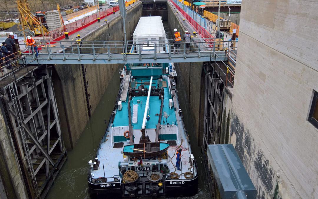 Transport de combustibles nucléaires par voie routière et voie fluviale